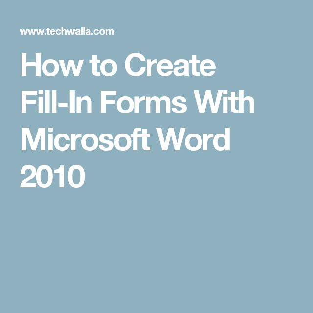 best microsoft office quick reference guides images on how to create fill in forms microsoft word 2010