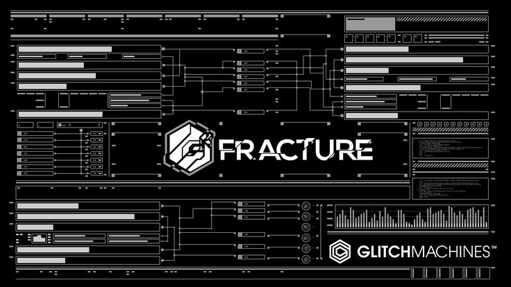 Fracture By Glitchmachines plug-in. Facemelting.   synth synthesizer edm