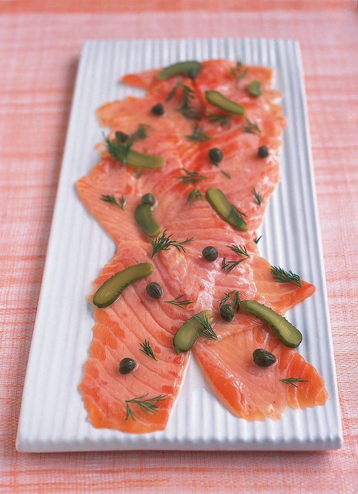 Marinated Salmon With Capers and Gherkins | Nigella's Recipes | Nigella Lawson