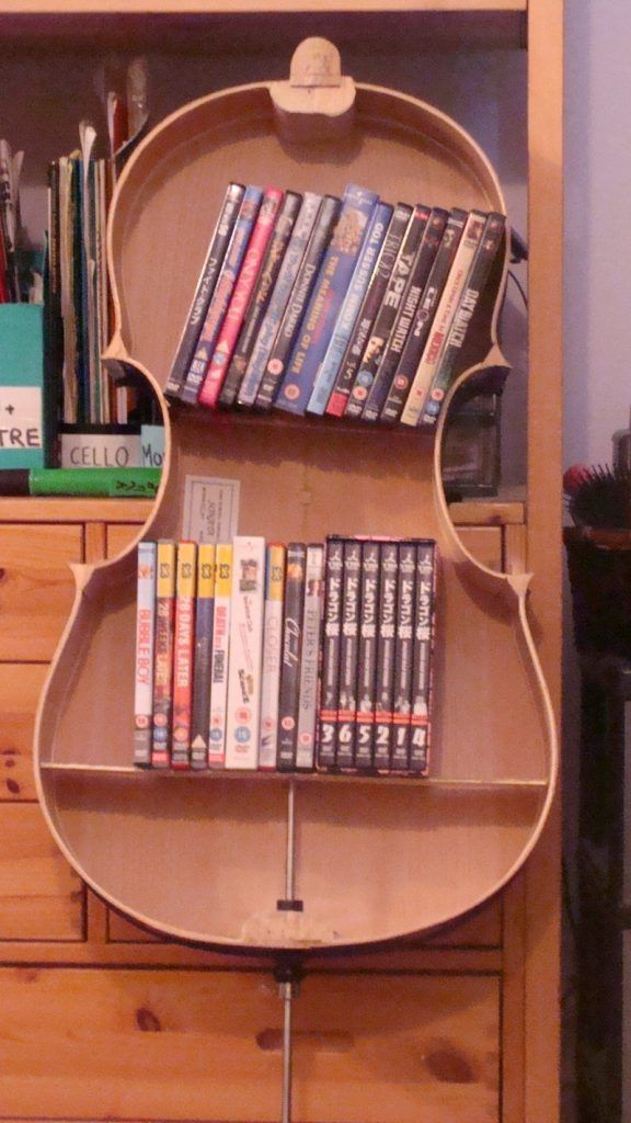 Biola Shape DVD Storage