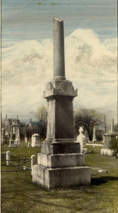 Lount & Matthews Monument, Necropolis cemetery.1910
