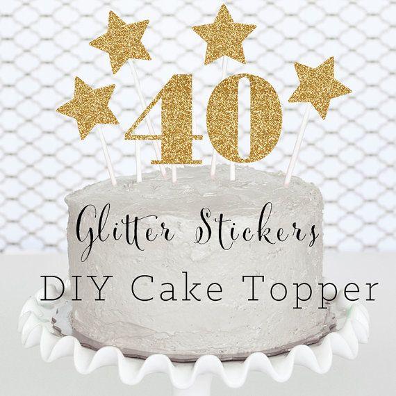 25 Unique 40th Birthday Decorations Ideas On Pinterest