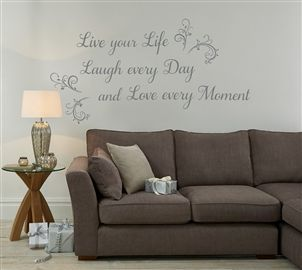 Buy Live Laugh Love Wall Stickers From The Next UK Online Shop