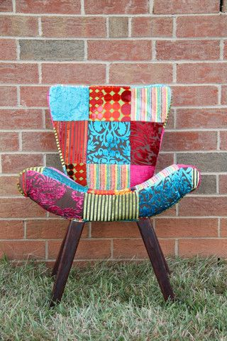 Gypsy Patchwork Director's Chair - GypsyTemple