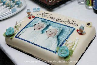 Bildeprint på kaka
