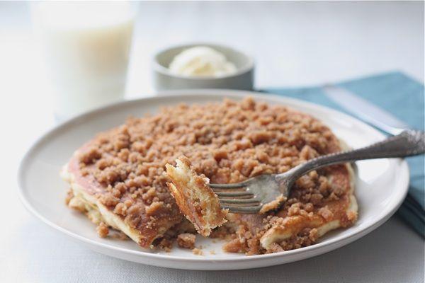 cinnamon streusel pancakes recipes pancakes pancakes streusal pancakes ...