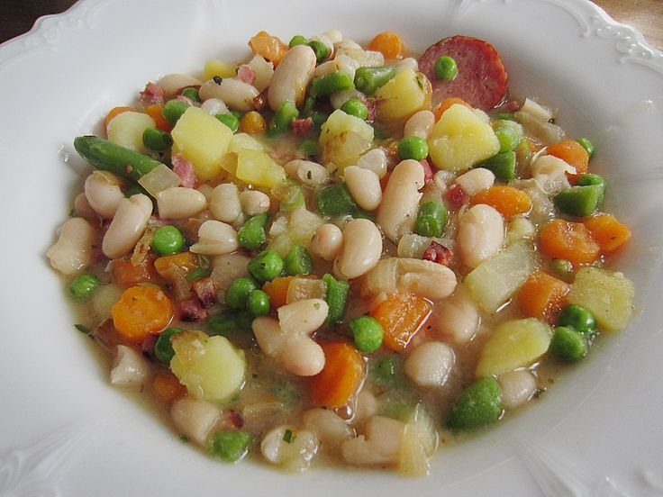 Weiße Bohnen-Suppe 1