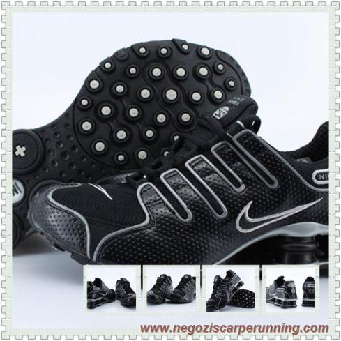 scarpe da ginnastica NZ Nero Nike Shox NZ NZ-004 Uomo-Donna