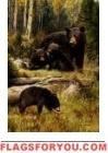 Bear Cubs House Flag