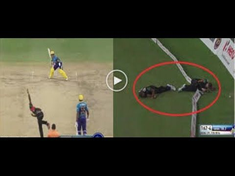 AB de Villiers Six Makes Two Fielders Almost Died | Worst Injury / Death...