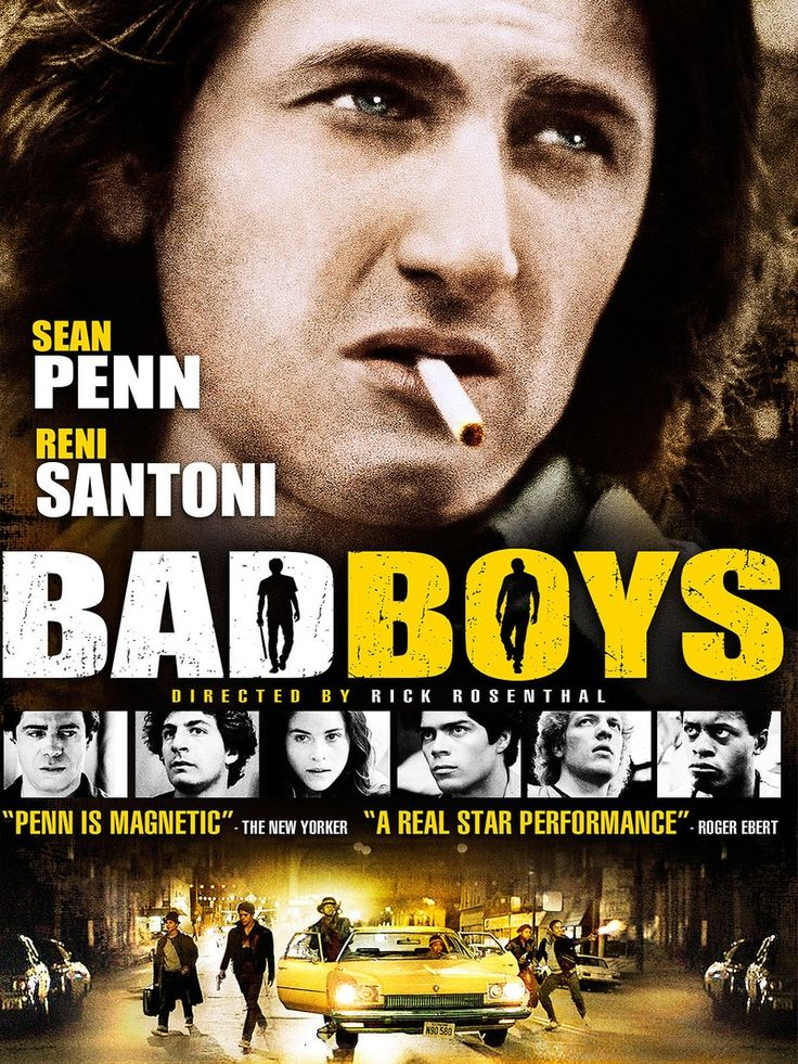 Following magnetic performances in Taps (1981) and Fast Times at Ridgemont High (1982), young actor Sean Penn sealed his reputation as one of his generation's most gifted performers with his gritty star turn in Bad Boys (1983), an entertaining tale of teen