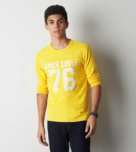 AEO Vintage Applique Graphic T-Shirt