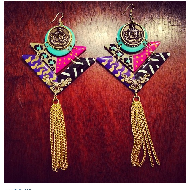 47 best funky earrings images on jewelry accessories