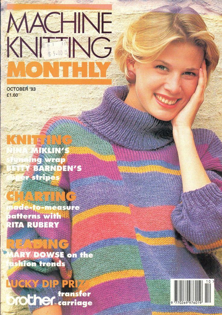 22 best Machine Knit Today Magazine images on Pinterest | News ...