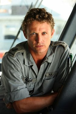David Lyons. Australian actors are the best!! :) Haven't seen him in anything but I like his looks!