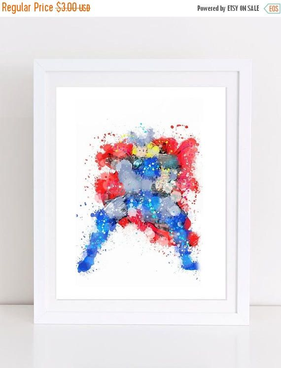 60%OFF avengers watercolor watercolor avengers printable