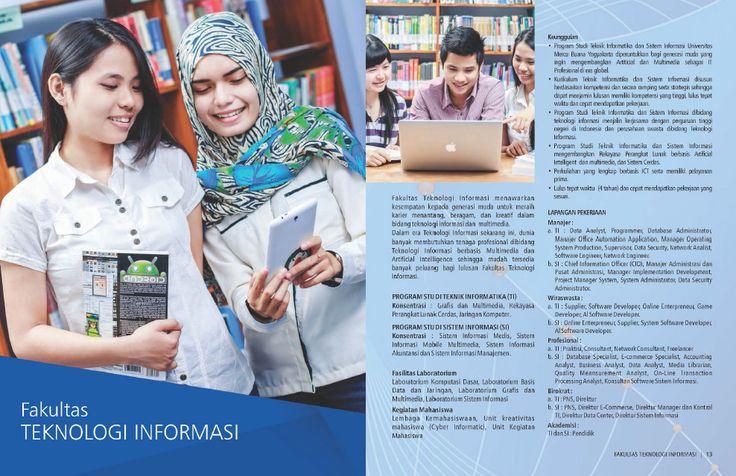 Fakultas Teknologi Informasi  Universitas Mercu Buana Yogyakarta