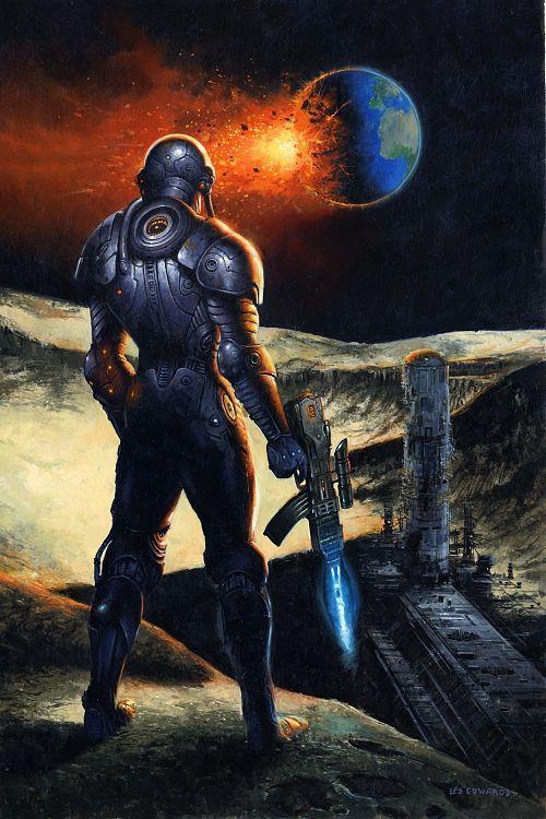 Cyborg Moon - Les Edwards | Mechs, Armored Suits & Robots ...