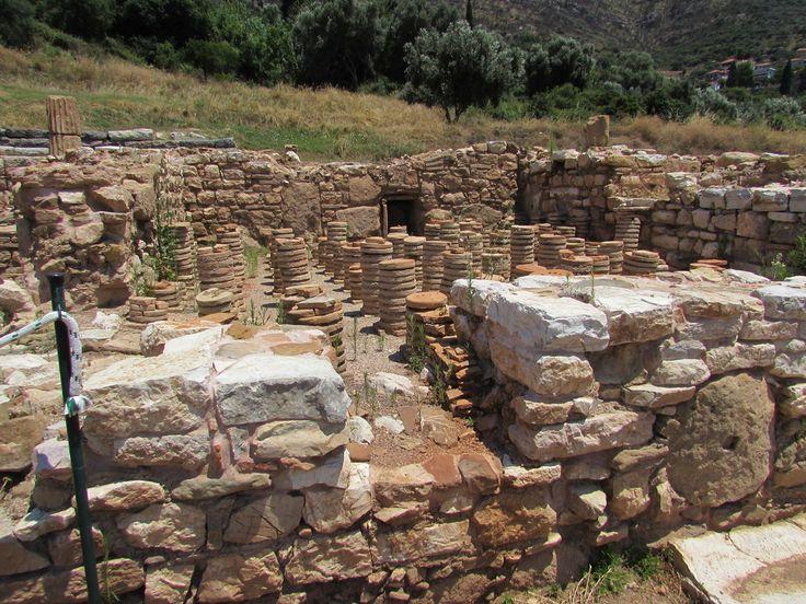 Roman influence in Ancient Messene, Greece.