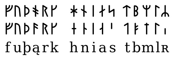 Younger Futhark - Wikipedia, the free encyclopedia