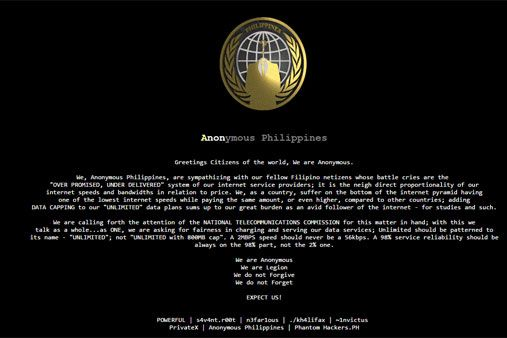 NTC website hacked over Internet service issues | ABS-CBN News