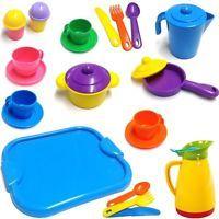 Einzel-Auswahl an Kinder-GeschirrSet-Teilen, Kochset- / Teeservice - Einzelteile