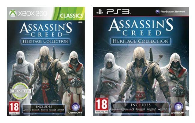 assassins creed heritage collection - ps3- assassins creed&#4...