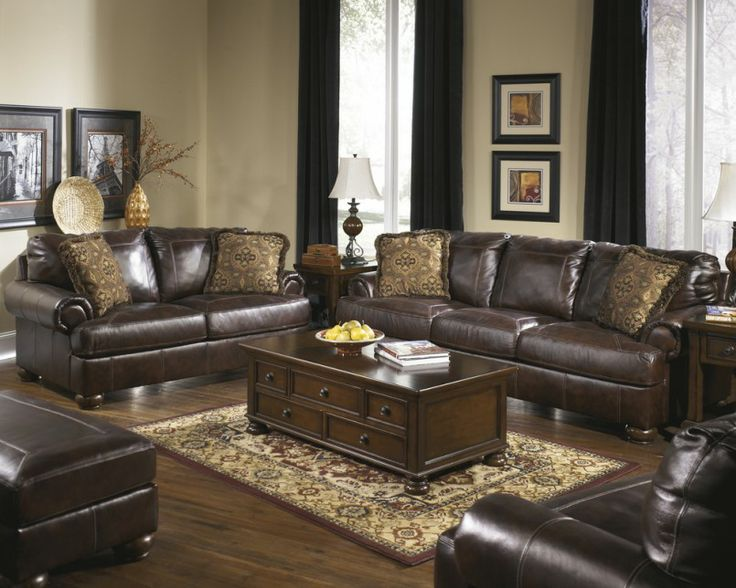 Living Room Dark Brown Leather Cheap Livingroom Sets Modern Coffee Table White Remodeling Interior