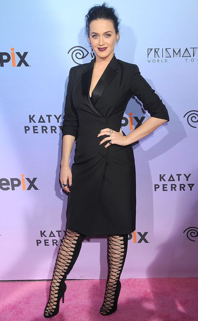 The secret to life on tour for #Katy #Perry: first on the list is #acupuncture!