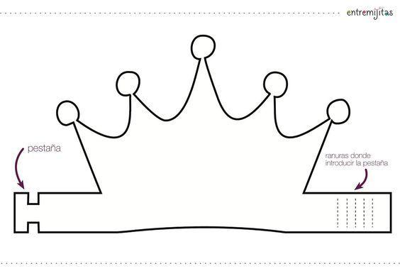 Ideas con goma eva para cumpleaños: coronas: