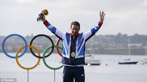 Congrats to Henri Lloyd's Sponsored sailor Ben Ainslie for winning his fourth Olympic Gold Medal in Sailing competition.  London 2012