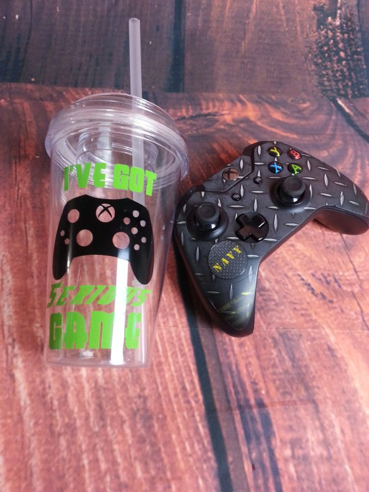 XBox Cup,Video Game Birthday Party, Birthday Party Favors, Xbox One, XBox 1, XBox 360, Birthday, Gamertag, Controller, Video Game, XBox Live by NatureFamilyLife on Etsy