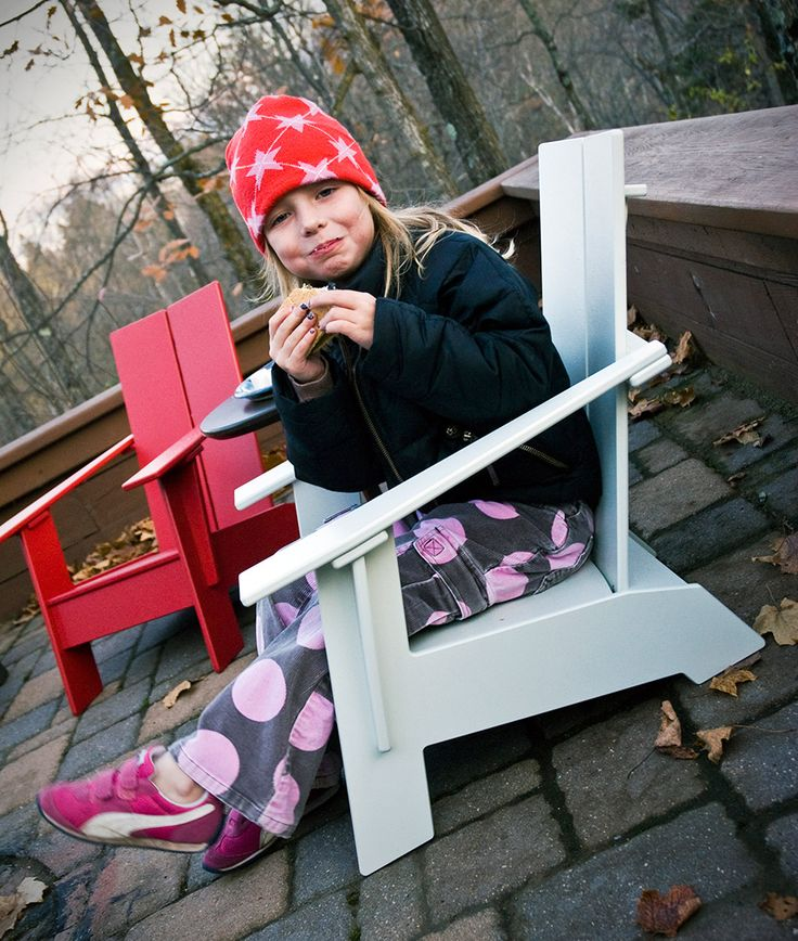 Kids Adirondack Chair for the Little Lollygagger | Loll Designs