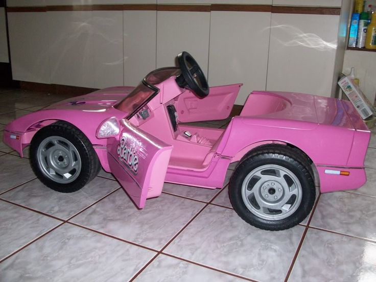 Barbie Power Wheels Corvette.   My Ride when I was about 5 :)