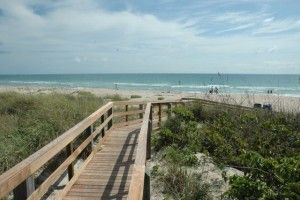 Public beaches in Port St. Lucie Florida stretch over 21 miles. Relax your toes into the soft white sand.