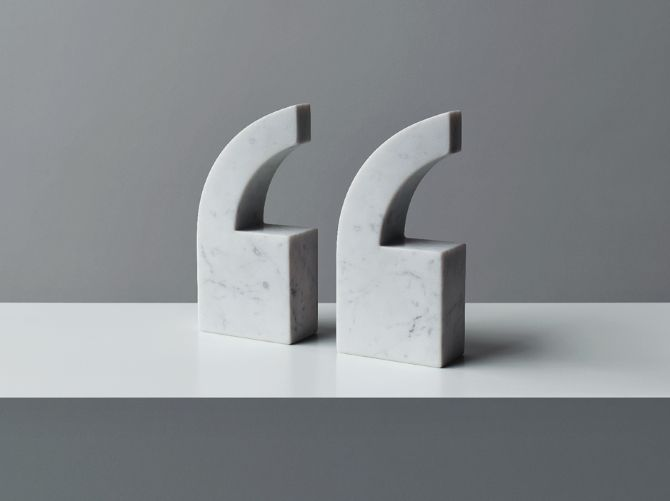 """""""Quote"""" designed by Julia Stenius"""