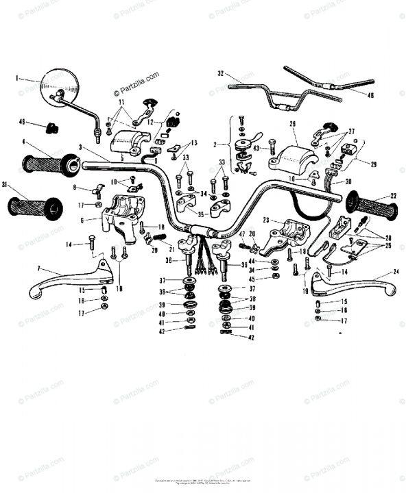 17 Motorcycle Handlebar Diagram Motorcycle Handlebar Harley Handlebars Handlebar