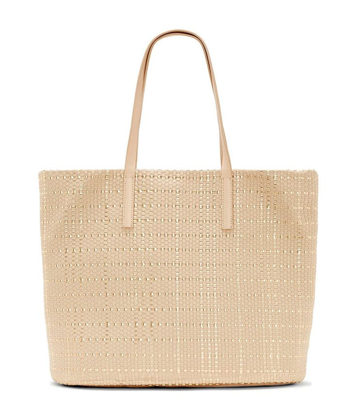 Vince Camuto Oren Woven Tote on ShopStyle