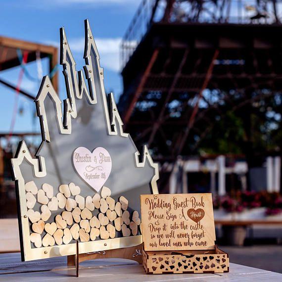 Disney Wedding Guest Book Alternative Mason Jar Wedding