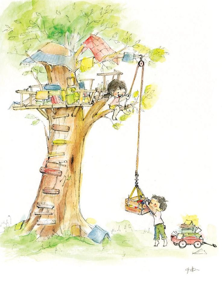 sweet tree house