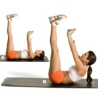Lower abs - the bane of every woman's existence...Eight serious LOWER ab moves from top Olympic trainers that will score you a rock-solid middle. Worth a try