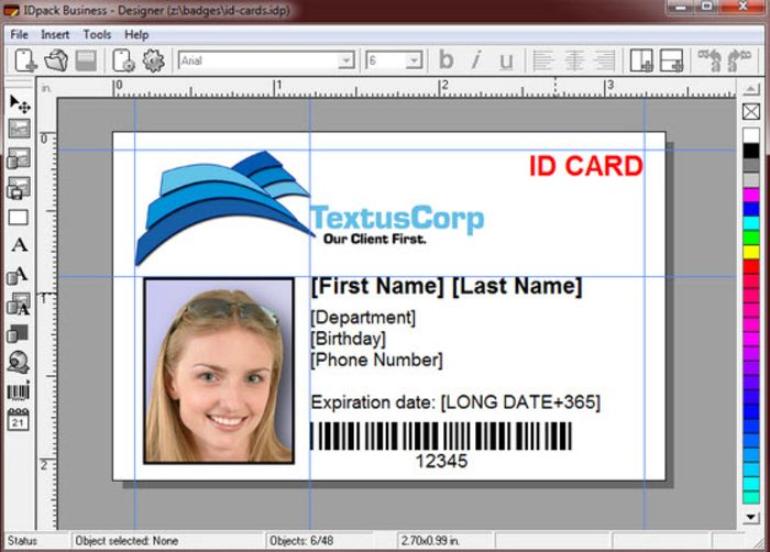 Image Result For Employee Id Card Format Id Card Template