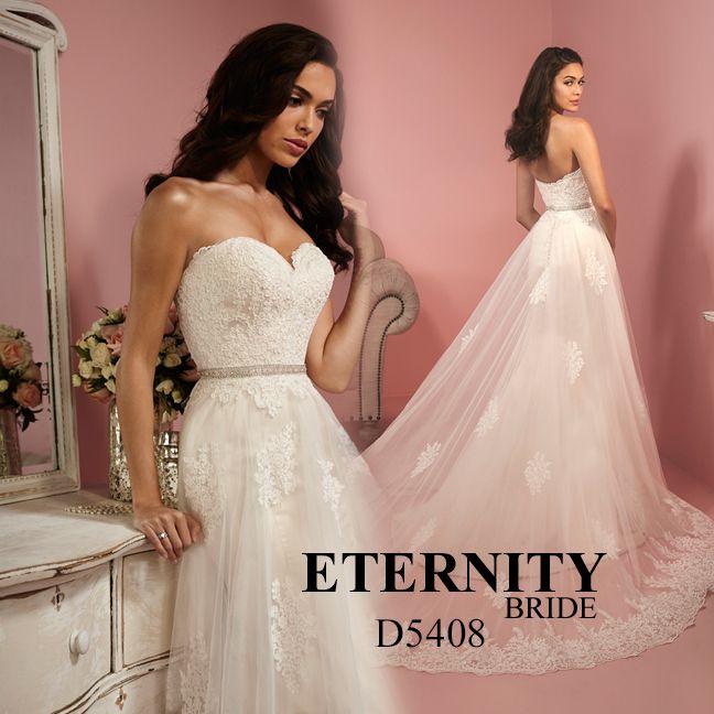 18 best WEDDING DRESSES ETERNITY BRIDE images on Pinterest | Wedding ...