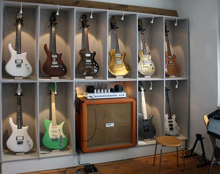 Some Impressions From Our Shop In Kaiserslautern, Germany   ZEAL Guitars