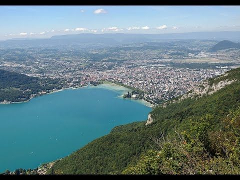 Places to see in ( Annecy - France )  Annecy is an alpine town in southeastern France where Lake Annecy feeds into the Thiou River. Its known for its Vieille Ville (old town) with cobbled streets winding canals and pastel-colored houses. Overlooking the c
