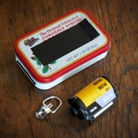 Apparently it is possible to make a pinhole camera from an Altoids tin (although this website doesn't give instructions because it wants people to buy the book)