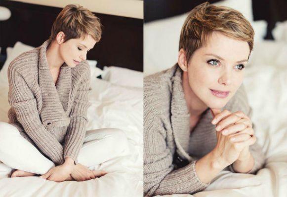 Andrea Osvart's short hair | Mid