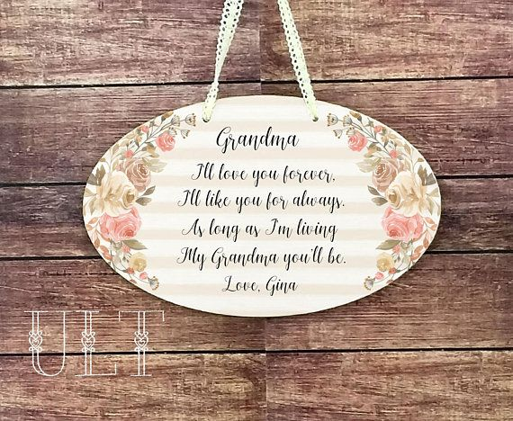 Grandma Mothers Day Gifts For Grandmother Birthday New Personalized