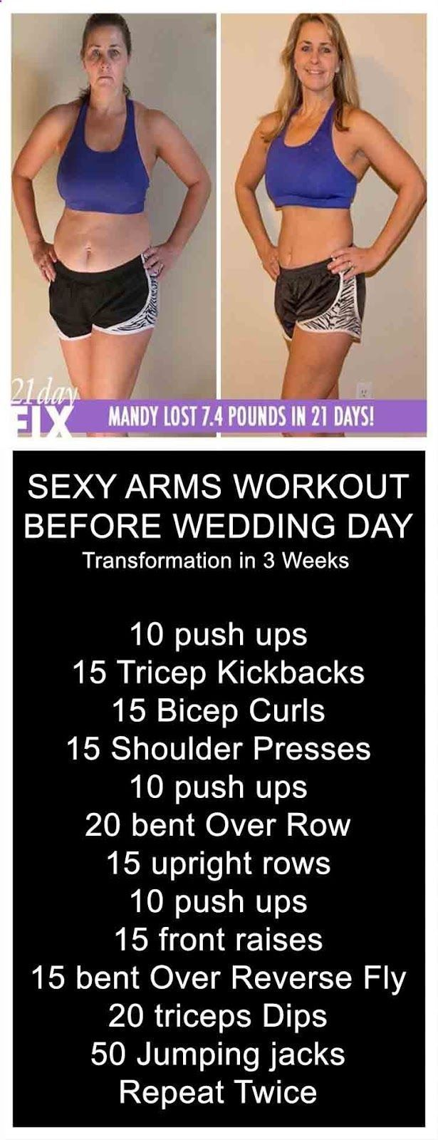 3 Week Diet Loss Weight - SEXY ARMS WORKOUT BEFORE WEDDING DAY and learn 10 Reasons To Decrease Sugar Intake From Your Diet   3 week diet   fitness   workout plan   quick fat loss   weight loss guide   inspiration   THE 3 WEEK DIET is a revolutionary new diet system that not only guarantees to help you lose weight — it promises to help you lose more weight — all body fat — faster than anything else you've ever tried. #quickweddingplanning