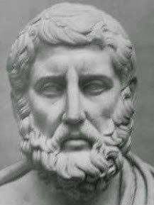 Informadika: Dünyada Bilim Neden Ege Kıyılarında BaşladıEmpedokles'de (MÖ 490-430)Empedokles: Hiçbir şey yok olmaz hiçbirşey de yoktan var olmaz